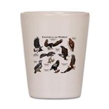 Eagles of the World Shot Glass