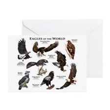 Eagles of the World Greeting Cards (Pk of 20)