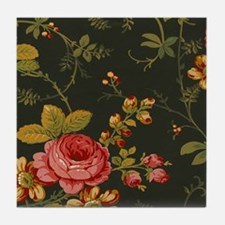 Floral Rose Series Designer Original Tile Coaster
