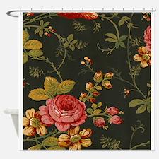 Floral Rose Series Designer Original Shower Curtai