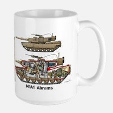 M1a1 Abrams Mbt Tim MugMugs
