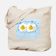 Baby Yellow fish Tote Bag