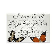 Phillipians 4:13 Magnets