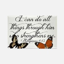 Phillipians 4:13 Magnets