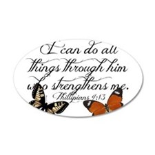 Phillipians 4:13 Wall Decal
