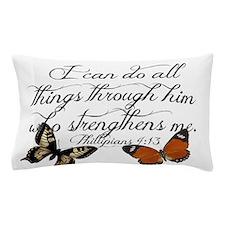 Phillipians 4:13 Pillow Case