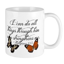 Phillipians 4:13 Mugs