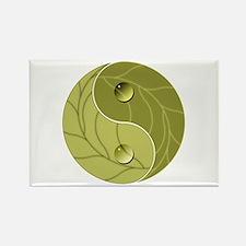 Yin Yang Nature Rectangle Magnet