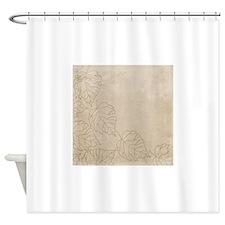 js_silverpatina_3 Shower Curtain