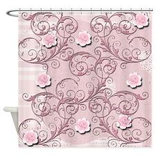 123 Shower Curtain