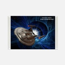 ENTERPRISE Blue2 Rectangle Magnet