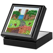 Girdners Garden Paradise Keepsake Box