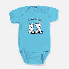 Westie Besties Baby Bodysuit
