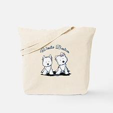 Westie Besties Tote Bag