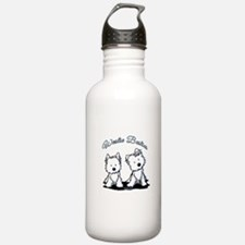 Westie Besties Water Bottle