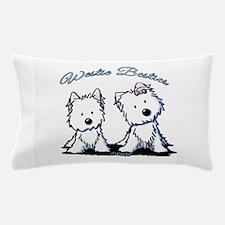 Westie Besties Pillow Case