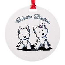 Westie Besties Ornament