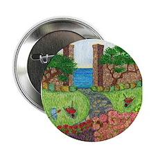 """Girdners Garden Paradise 2.25"""" Button"""