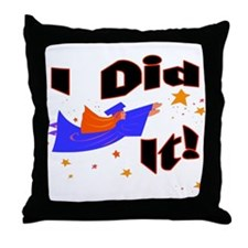 Graduation Star Throw Pillow