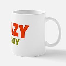 Crazy Cat Guy Mugs