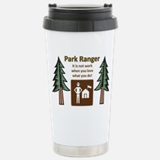 Park Ranger Tree Stainless Steel Travel Mug