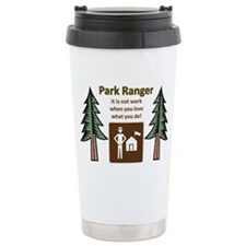 Park Ranger Tree Travel Mug