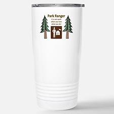 Park Ranger Tree Travel Mug