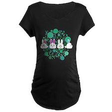 Bunny Row Maternity T-Shirt
