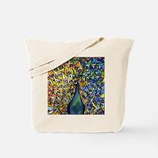 Cute Tiffany blue glass Tote Bag