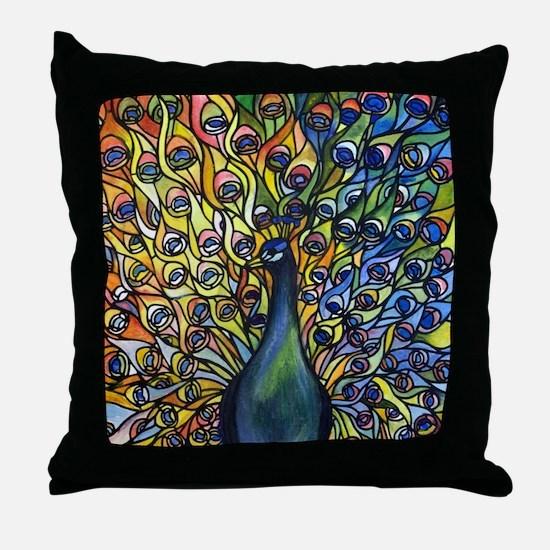 Funny Tiffany blue Throw Pillow