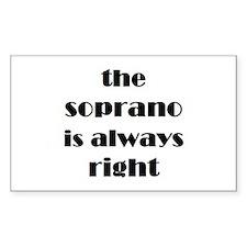 soprano right Decal
