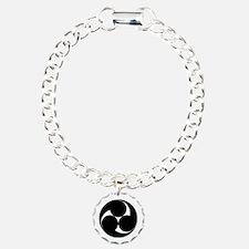 Three clockwise swirls Bracelet