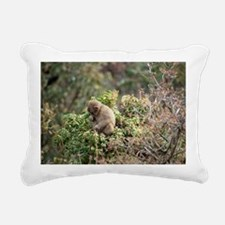 tree monkey Rectangular Canvas Pillow