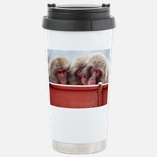 three wise monkeys Travel Mug