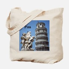 Customizable Leaning Tower of Pisa Souve Tote Bag