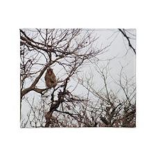 tree monkey Throw Blanket