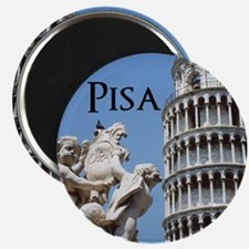 Customizable Leaning Tower of Pisa Souveni Magnet
