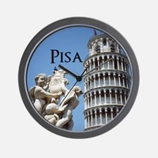 Customizable Leaning Tower of Pisa Sou Wall Clock
