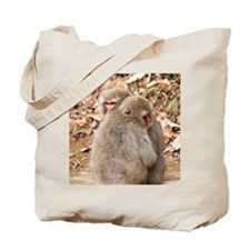 cuddling monkeys Tote Bag