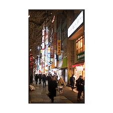 akihabara night shopping Decal