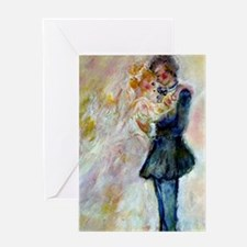 Wedding Dance Designer Art Greeting Cards