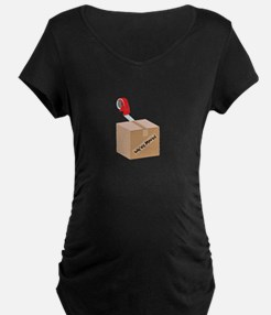 Weve Moved Maternity T-Shirt