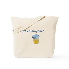 Got Chlamydia? Tote Bag