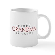 GRANDMA of TWINS - Small Mugs