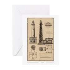 Assateague Light. Greeting Cards (Pk of 20)