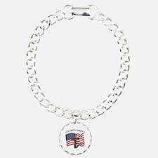 God Bless American With Bracelet