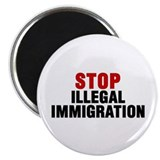 No illegal aliens Magnets