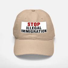 Stop Illegal Immigration Baseball Baseball Cap