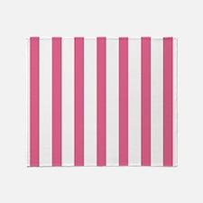 Summer Melon Stripe Throw Blanket