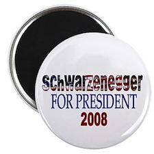 Schwarzenegger For President Magnet